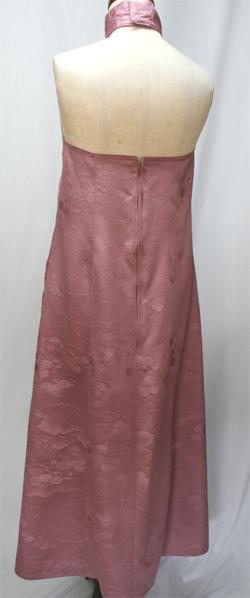 着物リメイクドレス